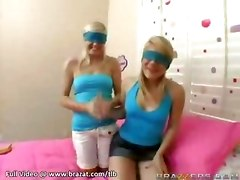 Blindfold Girls Suck