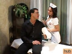 Hot Banging With Lustful Nurse!