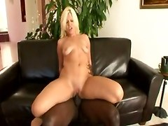 Whore Bouncing On Black Cock