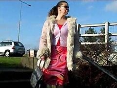 Piss In Fur Trimmed Coat