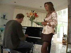 Hot Busty Milf Cougar Demi Delia Bangs Student