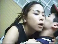 Cute Asian Fucked In Public Toilet