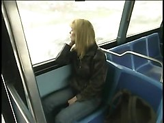 Crazy Couple Fucks In A Bus Publicly And Squirt