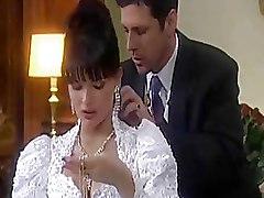 Brunette Brides Get Boned