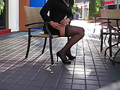 Sexy Legs & Business Suit