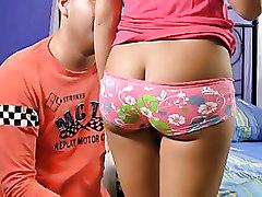Hot Teen Hottie Sucks Friends Cock On Film