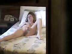 Hidden Cam  My Sister Caught Masturbating