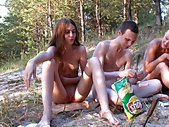 Russian Nudists (happy People Don&039;t Ware Pants)