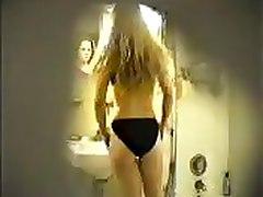 Hidden Cam   Blonde Cutie  In Bathroom