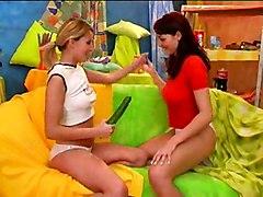 Two Teens Exploring Their Fantasies 3