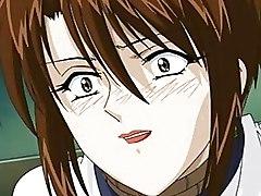 Naughty Hentai Anime Boys Violating Bound Teacher