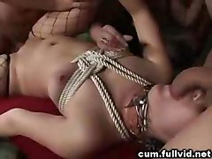 Cum Covered At Gangbang