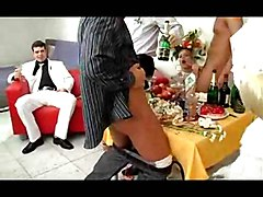 The Bride Is Fucked By Groom And Witnesses