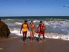 Funny Report On Brasilian Nudist Beach