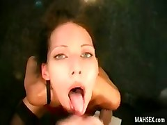 She Loves It When Men Orgasm In Her Mouth