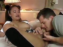 Cute Asian Babe Loves Fucking Her Boyfriends Cock