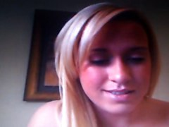 Hot Blonde On Cam With Vibrator!