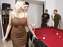 Interrupted By Sexy Dressed Flirty Milf