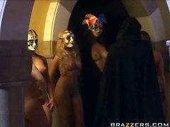 Busty Lesbians In Masks