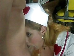 Blond Nurse Banging