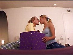 Amy And Katie Have Dormroom Fantasies