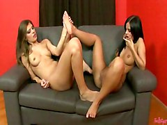 Hot Babes In Action