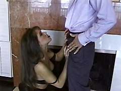 British Milf Nici Stirling Gets Fucked In The Living Room