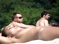 Nudist Beach Hottie From Ukraine -- Black Sea Topless
