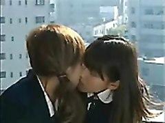 Asian Girls Tongue Kissing