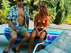 Blowjob And Sex At The Pool