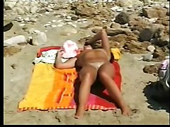 Wife Only Nude On The Beech