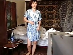 Sexy Russian Amateur Wakes Up Nude
