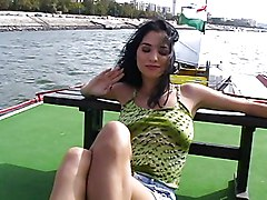 Hungarian Babe Fucked Down River