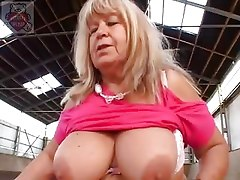 Mature Full Mummy Seduces The Son At The Thrown Factory.