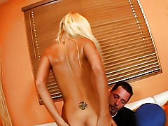 Blond Chick Getting Done