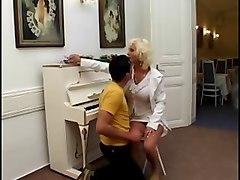 Son Fucks Hot  Blonde Mother