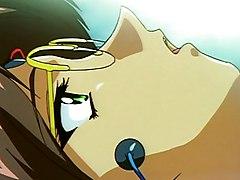 Bondaged Anime Girl Getting Teased