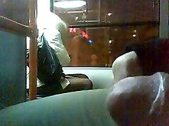 Blonde On Bus
