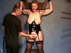 Amateur Dungeon Whipping