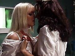 Lesbian Nurses Have Fun
