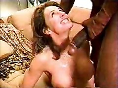 Wife Feeding On A Huge Cock