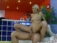 Big Penis Inserts This Blondies Tight Ass And She Loves It