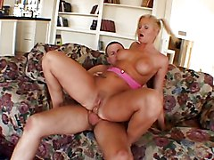 Blonde With Big Boobs Loves The Anal Way