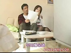 Husband Let Wife Be Fucked By Masseur 001