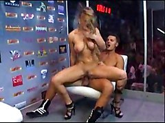 Rita Faltoyano Fucked Public In A Container