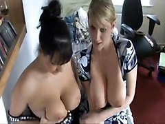 Two Girls With Big Boobs But No Rent