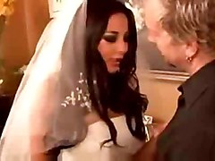 Sexy Audrey Bitoni As A Bride