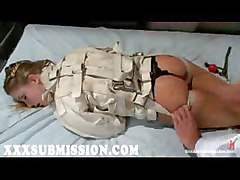 Blonde In Jacket Punished By Doctor