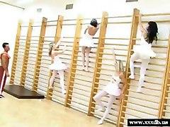 Ballet Teen Girls Fucked During Practice