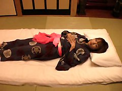 The Young Wife&039;s Massage In The Japanese-style Hotel